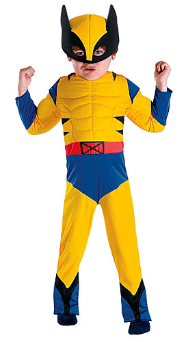 Toddler Wolverine Costume