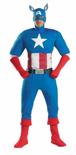 Captain America Super Deluxe Adult Costume