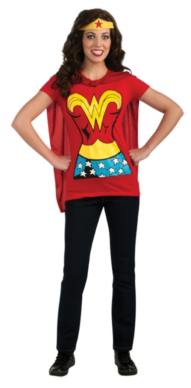 WonderWoman Shirt Costume