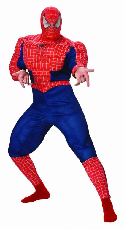 Spiderman 3 Muscle Adult Costume