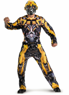 Transformers Bumblebee Movie Classic Adult Costume