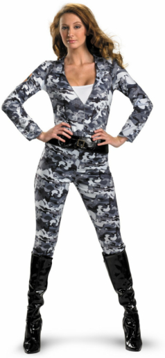 GI Joe - Scarlett Camo Movie Adult Costume