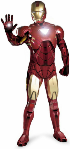 Iron Man 2 (2010) Movie - Iron Man Mark 6 Super Deluxe Adult Cos