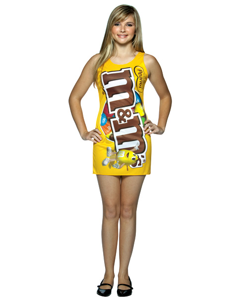 Teen M and M Peanut Tank Dress