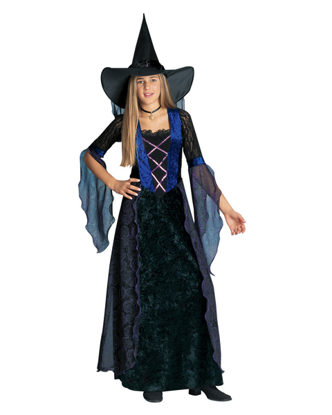 Purple Witch Costume for Teen