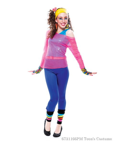 Teen Dramarama 80s Dance Star Costume
