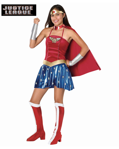 Wonder Woman Costume for Teen