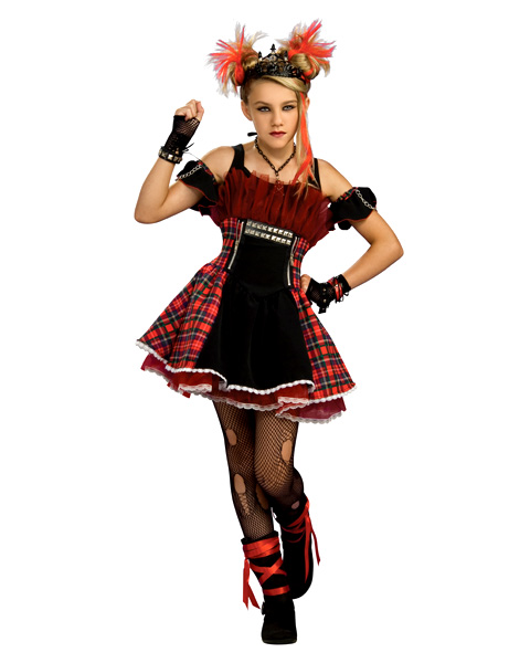 Punk Teen Ballerina Costume