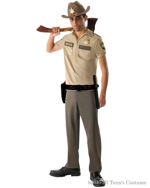 Teen The Walking Dead Rick Grimes Costume