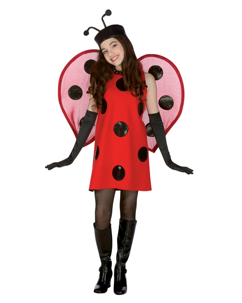 Lady Bug Costume for Teen