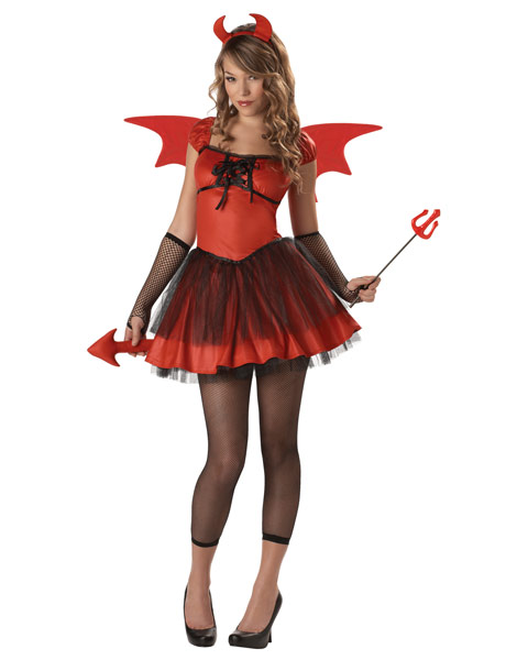 Teenage Devil Doll Costume