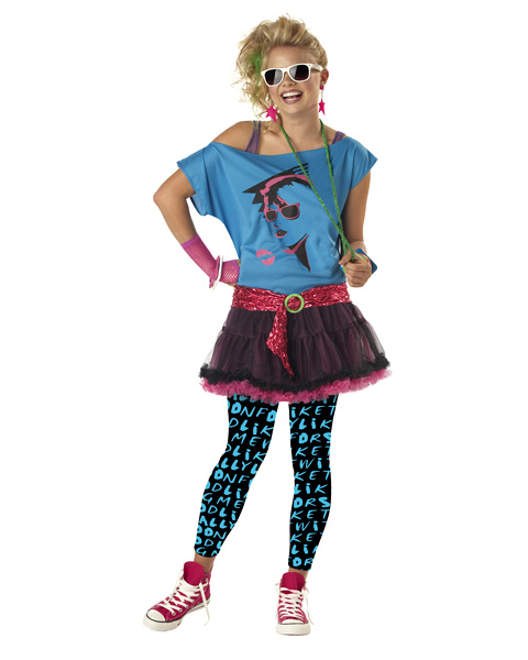 Teenage Valley Girl Costume