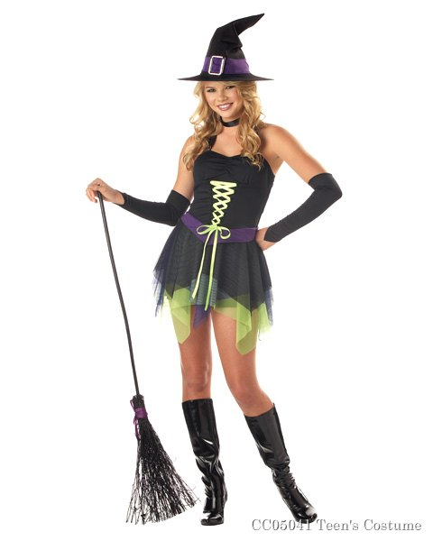 Sassy Teen Witch Costume