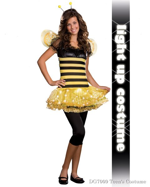Teen Busy Lil' Bee Junior Costume