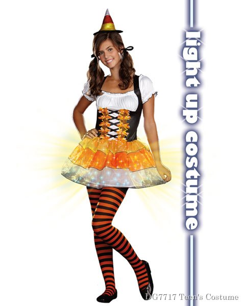Teen Candy Corn Cutie Costume
