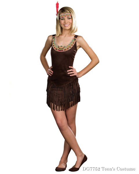 Teen Tribal Beauty Costume