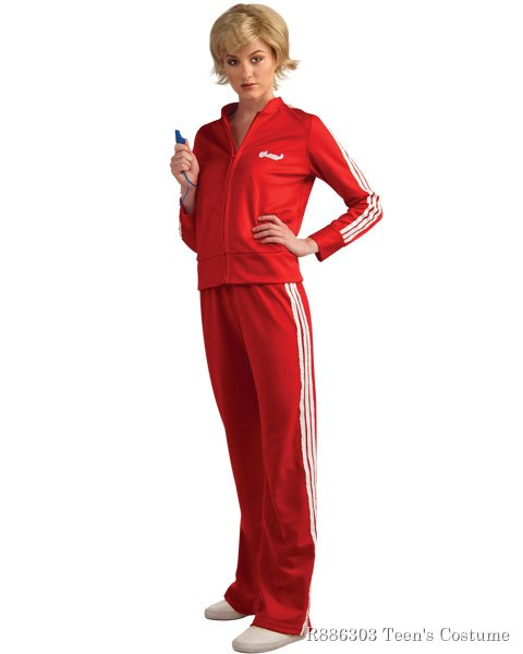 Glee Sue Track Suit Teen Girls Costume