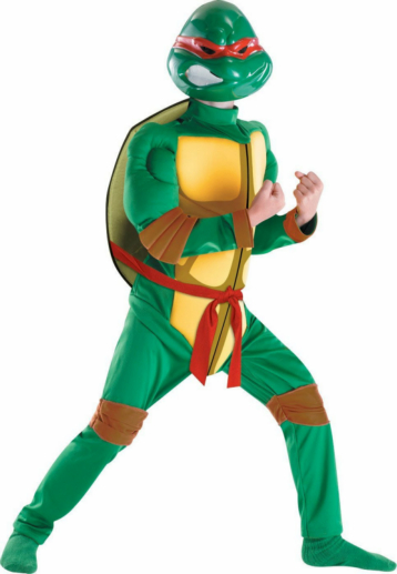 TMNT Raphael Classic Muscle Child Costume