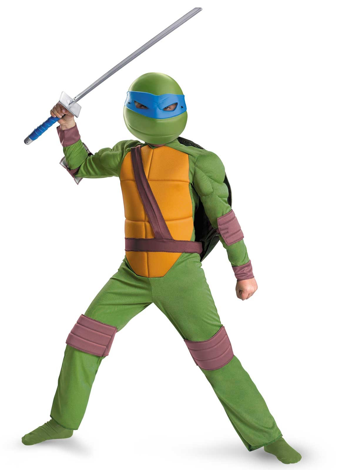 Teenage Mutant Ninja Turtles Leonardo Animated Classic Muscle Ch