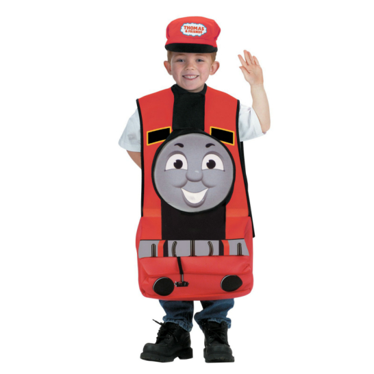 Thomas The Tank Engine James Child Costume