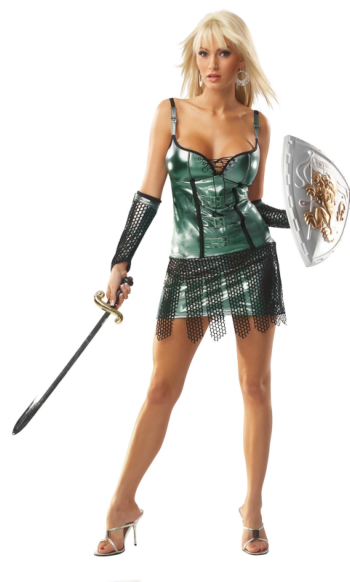 Female Gladiator Sexy Adult Costume