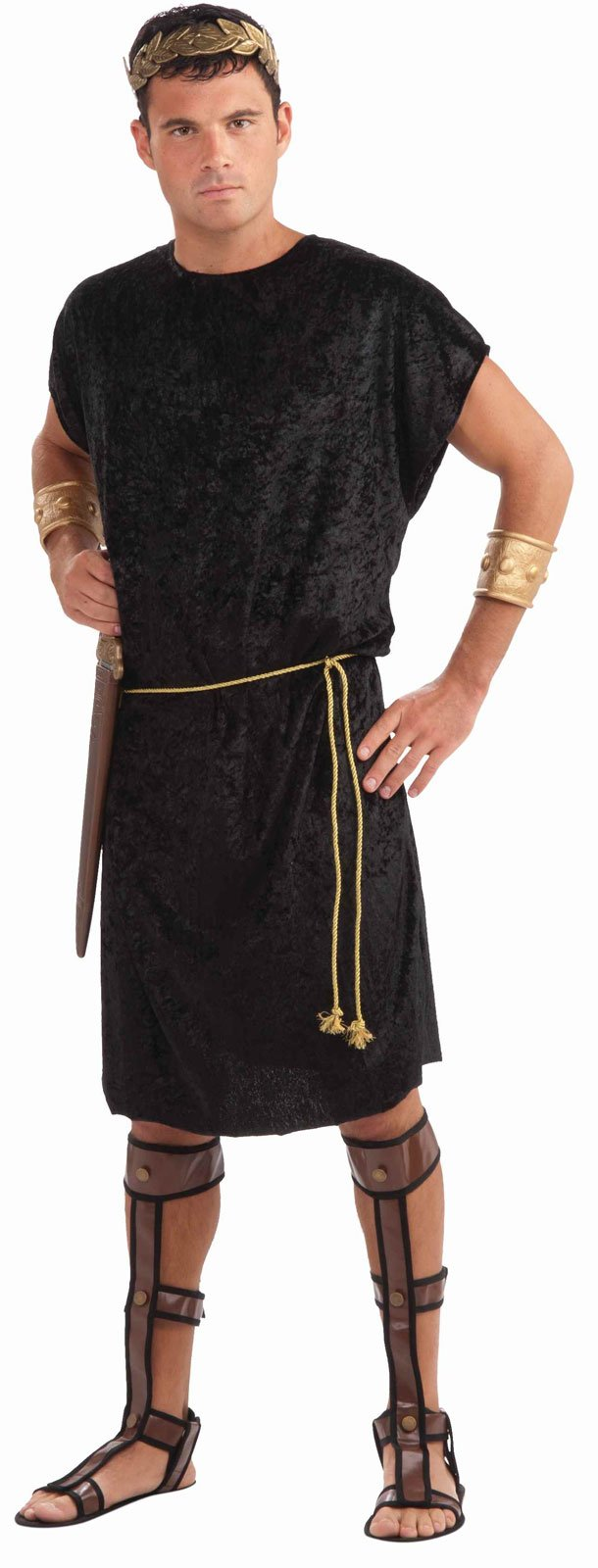 Tunic (Black) Adult Costume