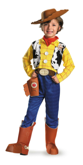 Toy Story - Woody Deluxe Child Costume