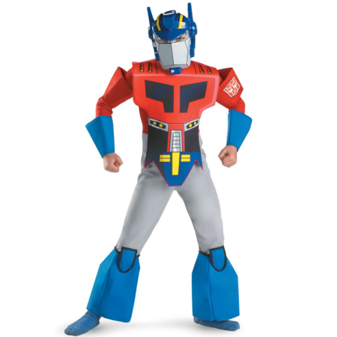 Transformers Animated Optimus Prime Deluxe Child Costume