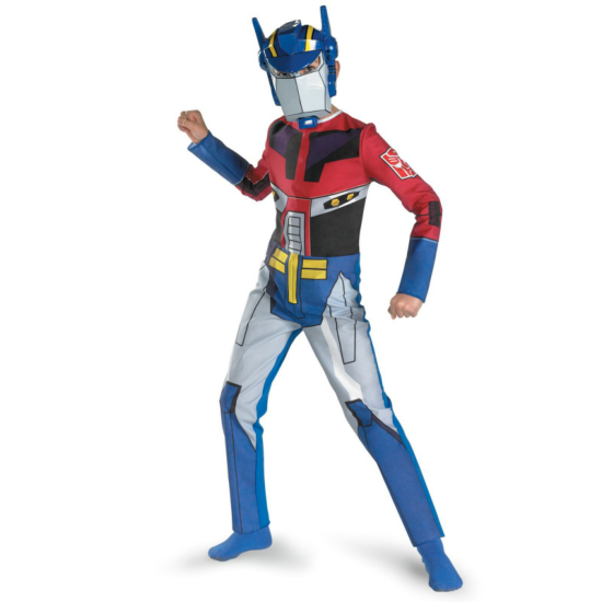Transformers Animated Optimus Prime Child Costume