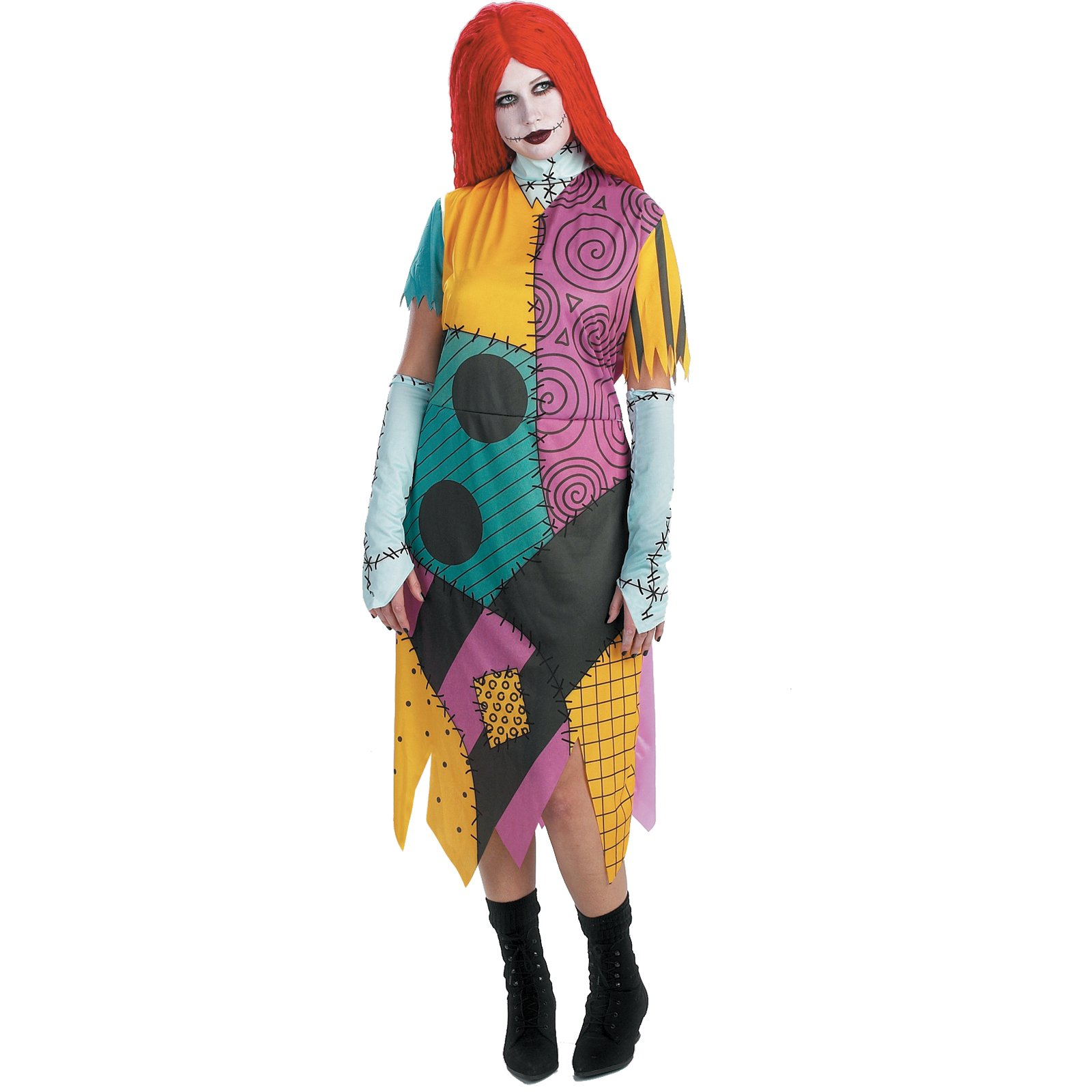 The Nightmare Before Christmas Sally Plus Adult Costume