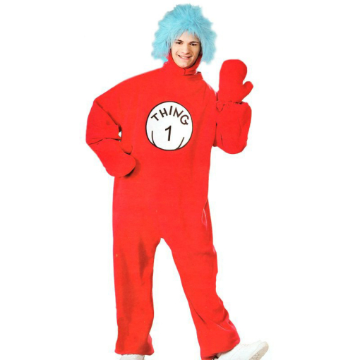 The Cat In The Hat - Thing 1 Adult Costume