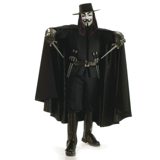 V for Vendetta Grand Heritage Collection Adult Costume