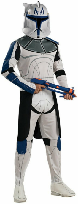 Star Wars Animated Clone Trooper Leader Rex Adult Costume