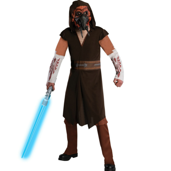 Star Wars Animated Plo Koon Adult Costume
