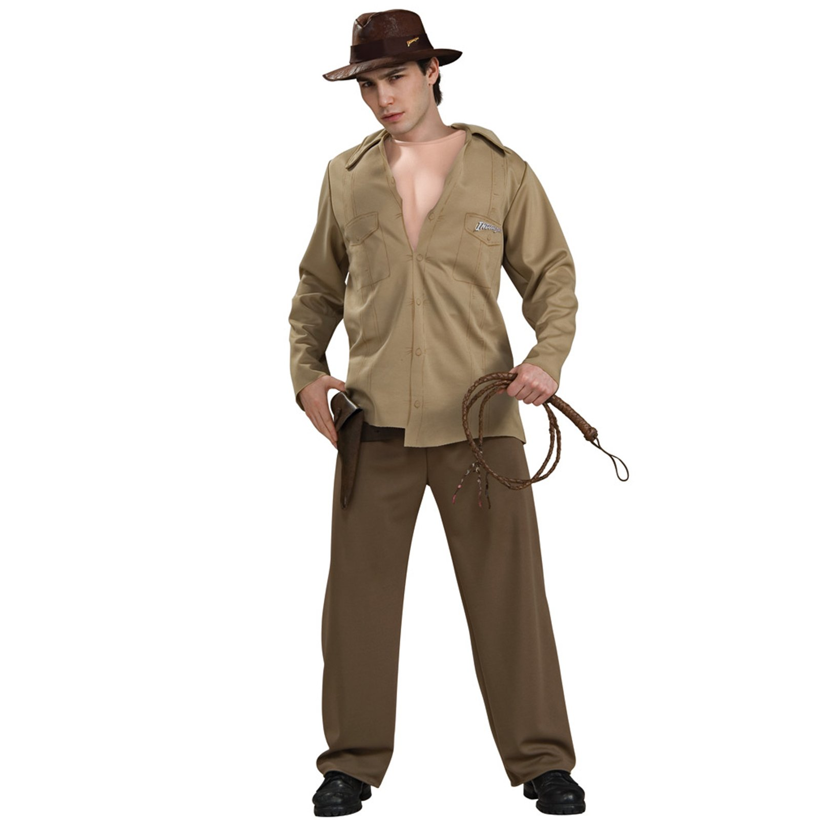 Indiana Jones Deluxe Muscle Chest Indiana Adult Costume