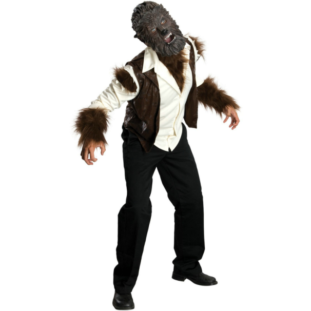 The Wolfman 2009 Wolfman Deluxe Adult Costume