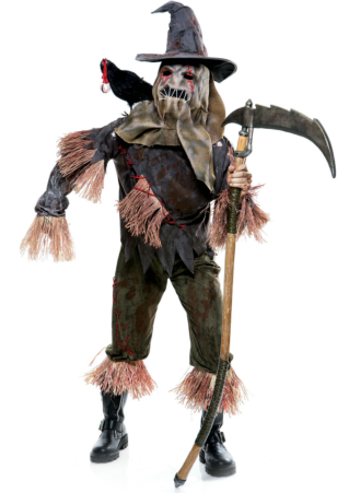 The Wicked of Oz Skarecrow Adult Costume