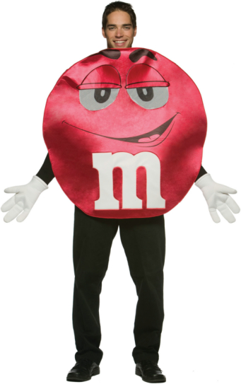 M&Ms Red Deluxe Adult Costume