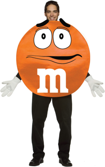 M&Ms Orange Deluxe Adult Costume