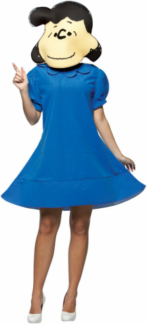 Peanuts Lucy Adult Costume