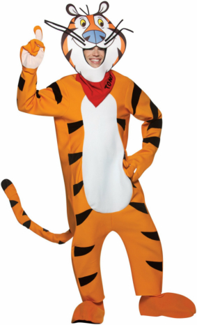Frosted Flakes Tony the Tiger Adult Costume