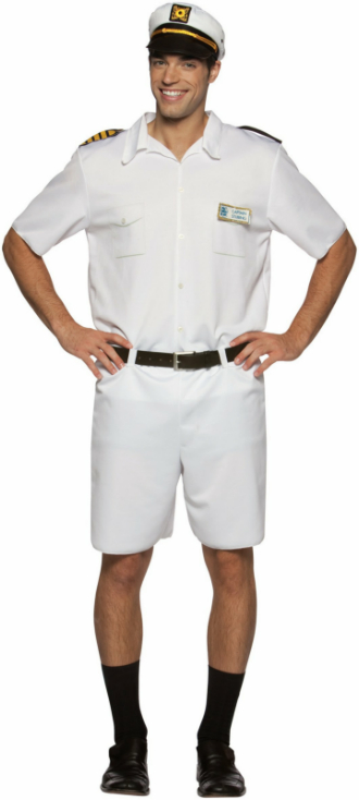 The Love Boat Captain Stubing Adult Costume