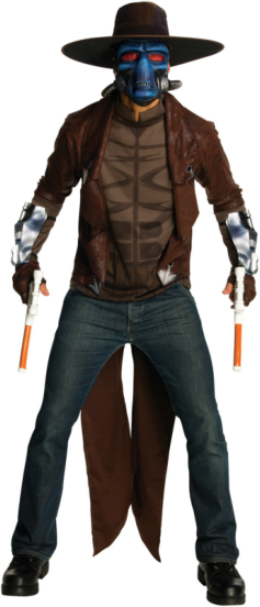 Clone Wars - Deluxe Cad Bane Adult Costume