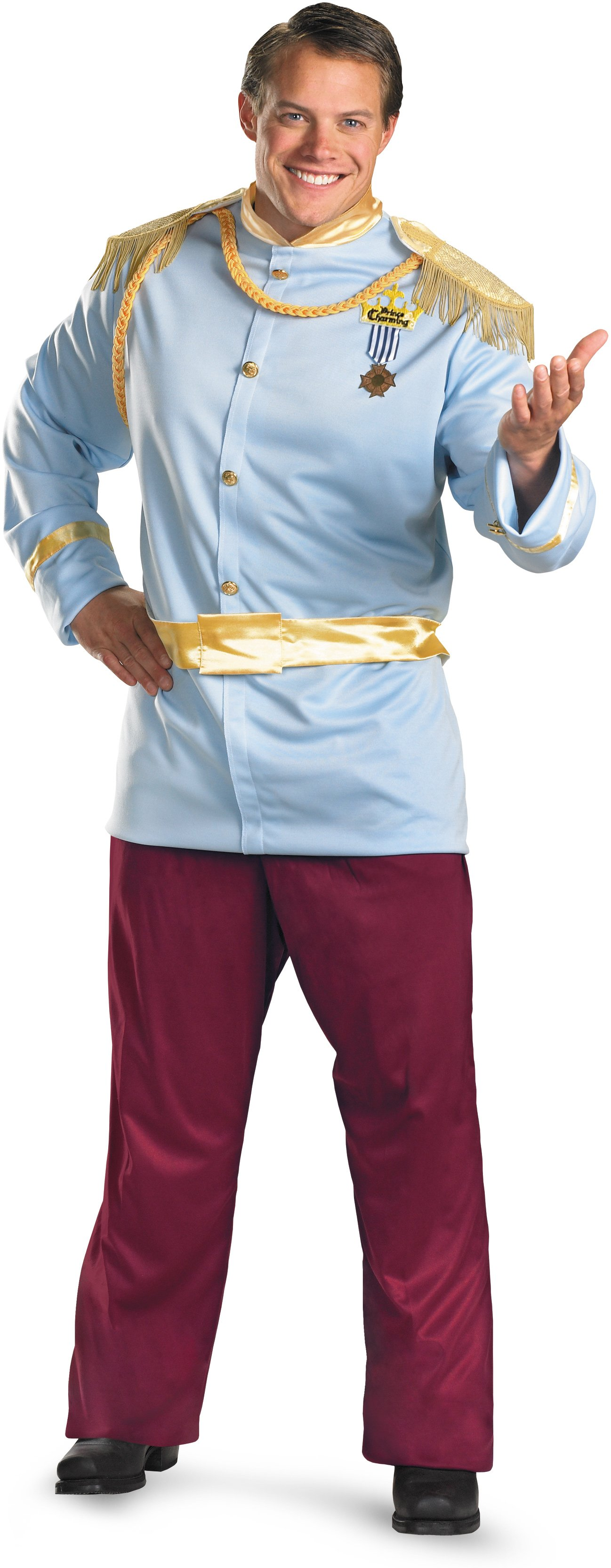 Prince Charming Deluxe Plus Adult Costume