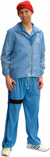 The Life Aquatic Crew Member Deluxe Adult Costume