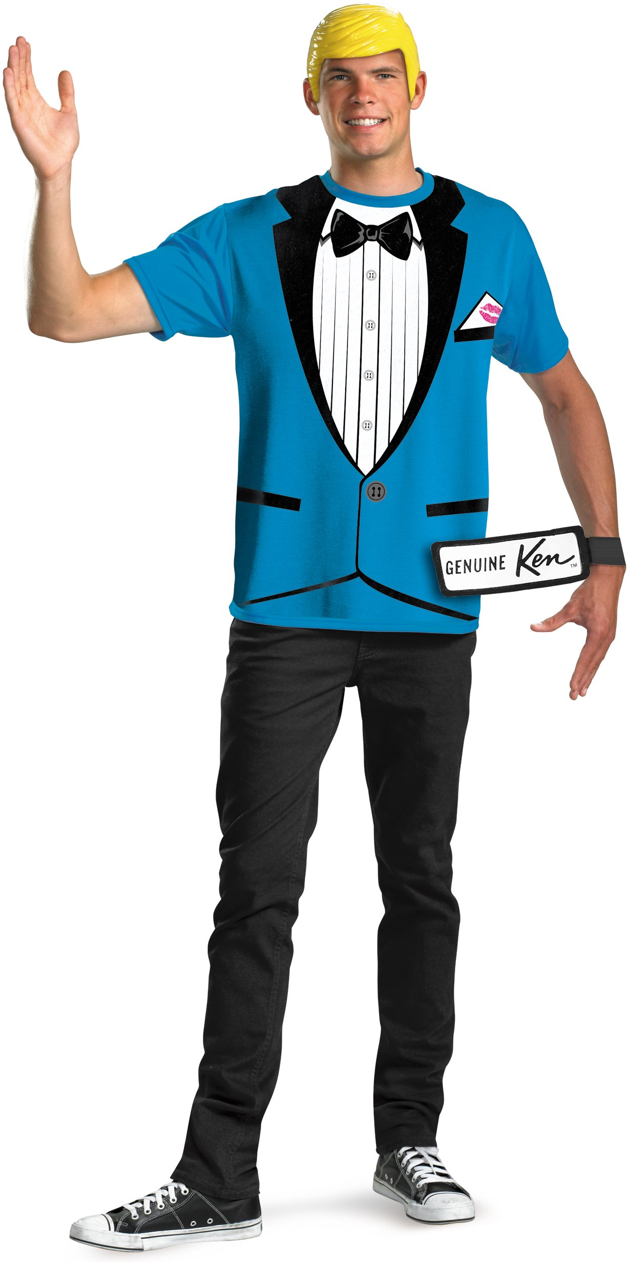 Ken T-Shirt And Mask Teen / Adult Costume Set