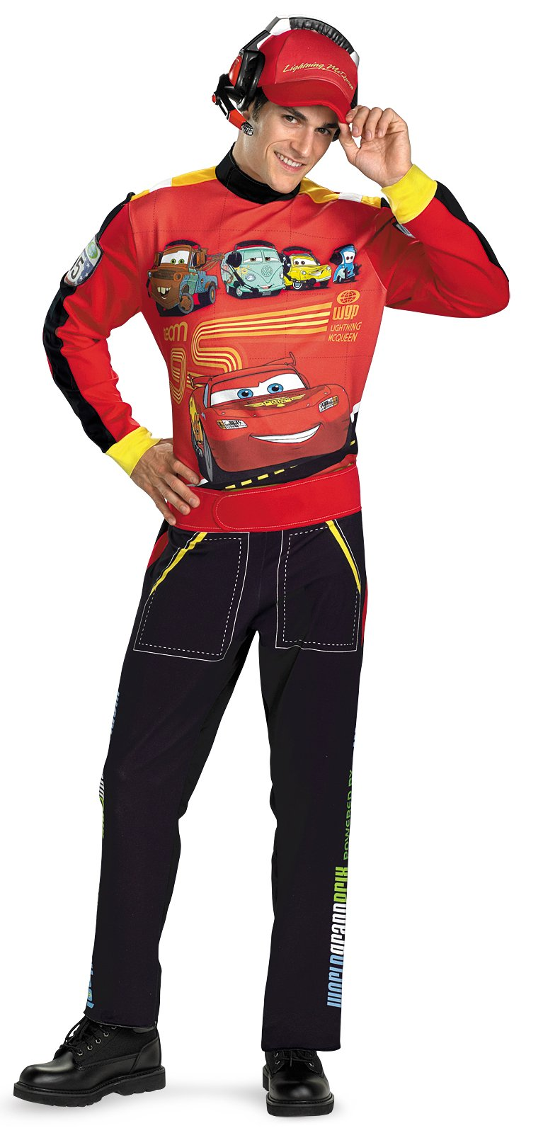 Cars Lightning Mcqueen Adult Costume
