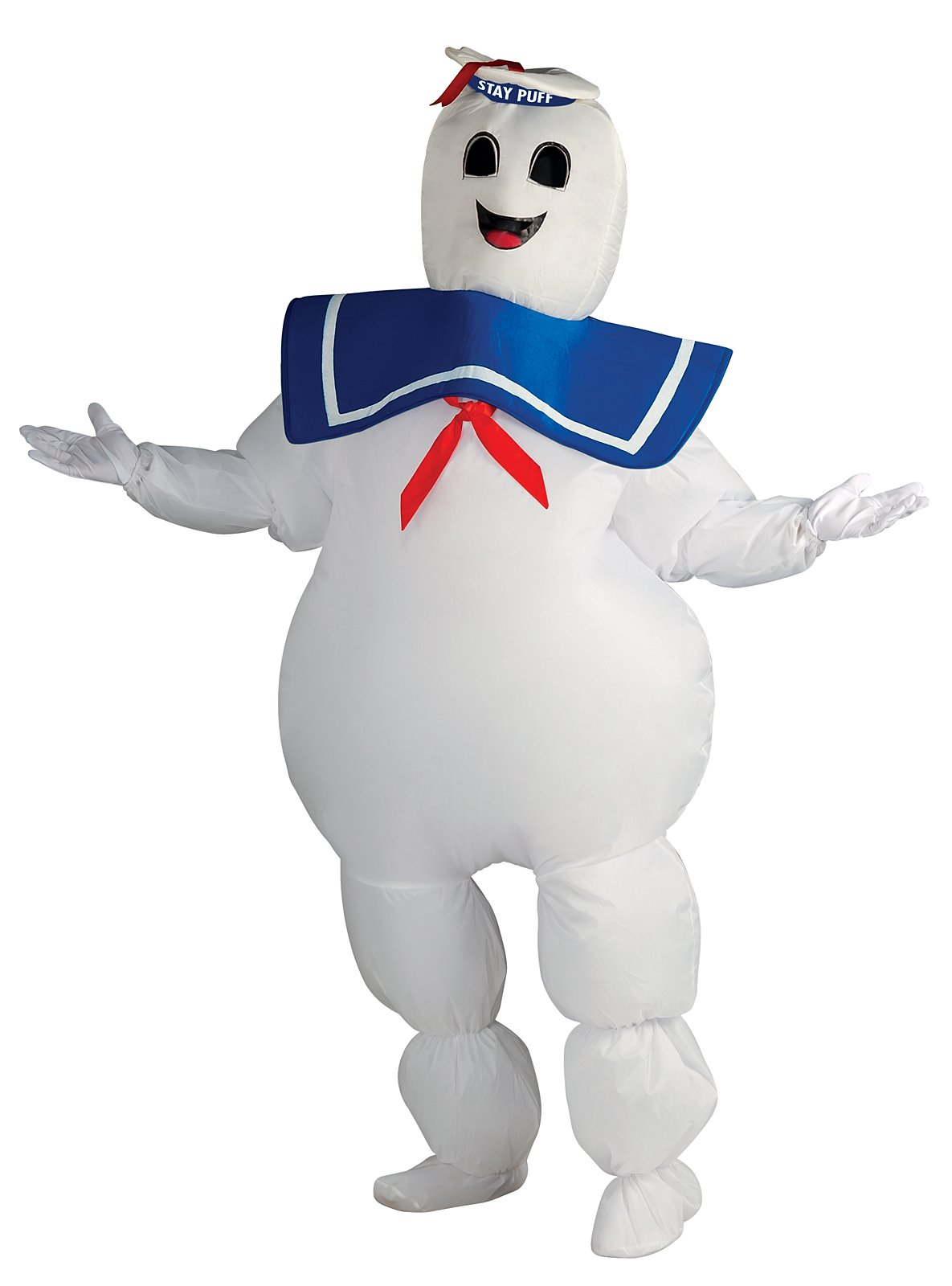 Ghostbusters - Inflatable Stay Puft Marshmallow Man Adult Costum