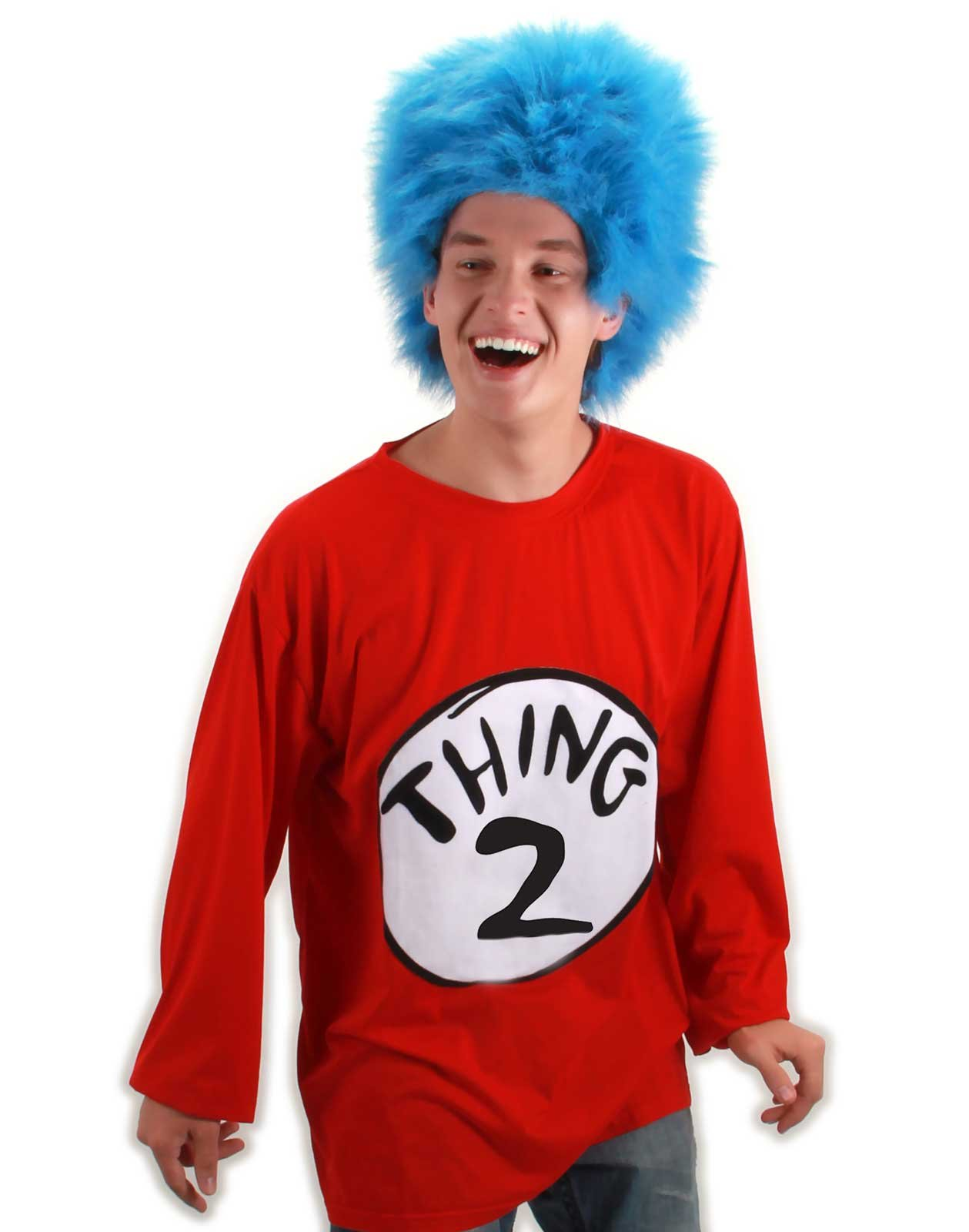 Dr. Seuss Thing 2 Adult Plus Costume Kit