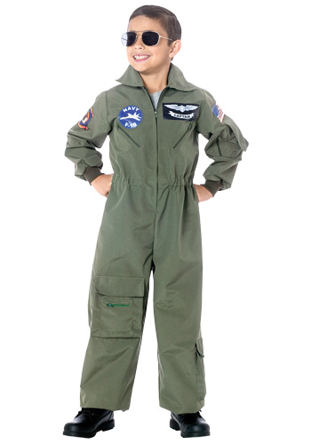 Child Deluxe Airforce Pilot Costume